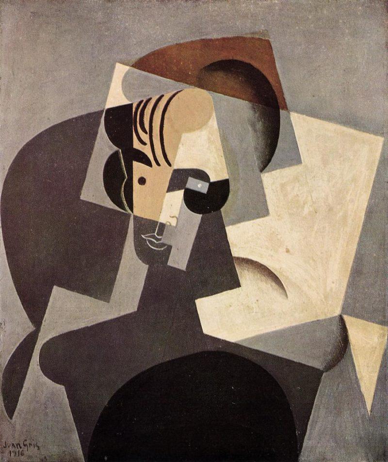 Portrait of Josette 1916 | Juan Gris | Oil Painting