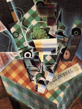 Still Life with Checked Tablecloth 1915 | Juan Gris | Oil Painting