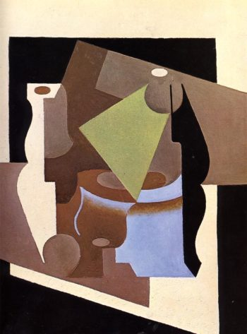 Still Life with Lamp 1919 | Juan Gris | Oil Painting