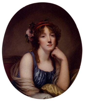 Portrait Of A Young Woman Said To Be The Artist s Daughter | Jean Baptiste Greuze | Oil Painting