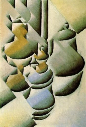 Still Life with Oil Lamps 1911-1912 | Juan Gris | Oil Painting