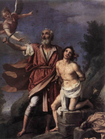 Sacrifice of Isaac 1590 | Empoli | Oil Painting