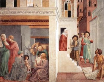 Scenes from the Life of St Francis 1452 | Benozzo di Lese di Sandro Gozzoli | Oil Painting