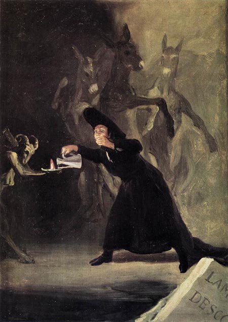 The Bewitched Man 1798 | Francisco de Goya | Oil Painting