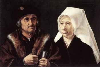 An Elderly Couple 1510 1528 | Jan Gossaert | Oil Painting