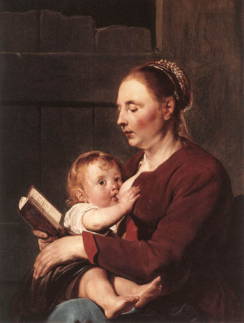 Mother and Child 1630 | Pieter de Grebber | Oil Painting