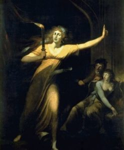 Lady Macbeth Sleepwalking 1784 | Johann Heinrich Fuseli | Oil Painting