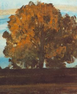 Great Tree at Martely 1910s | Janos Tornyai | Oil Painting