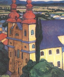 View from the Stephen Tower 1908 | Sandor Ziffer | Oil Painting
