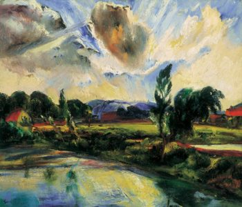After the Storm (After the Rain) 1927 | Jeno Goebel Paizs | Oil Painting