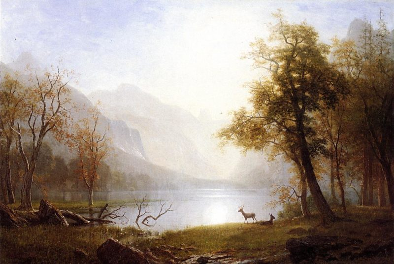 Valley in Kings Canyon | Albert Bierstadt | Oil Painting