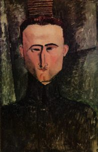 Andre Rouveyre 1915 | Amedeo Modigliani | Oil Painting