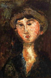 Beatrice Hastings 1914 | Amedeo Modigliani | Oil Painting