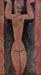 Caryatid 1912 | Amedeo Modigliani | Oil Painting