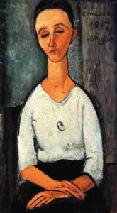 Chakoska 1917 | Amedeo Modigliani | Oil Painting