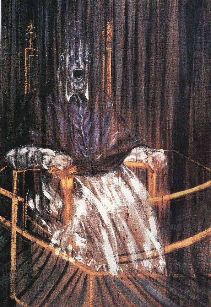 The Screaming Pope | Francis Bacon 1953 | Oil Painting