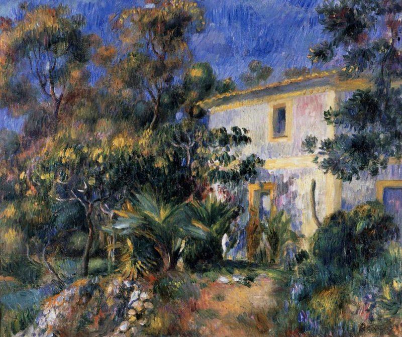 Algiers Landscape 1895   Pierre Auguste Renoir   Oil Painting