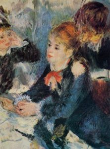 A the Milliners 1876 | Pierre Auguste Renoir | Oil Painting