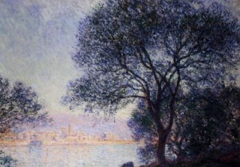 Antibes Seen from the Salis Gardens1 1888 | Claude Monet | Oil Painting