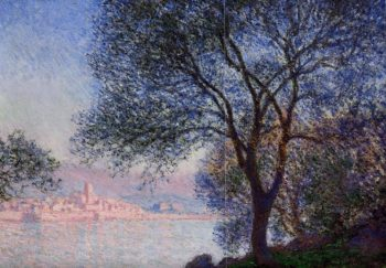 Antibes Seen from the Salis Gardens3 1888 | Claude Monet | Oil Painting