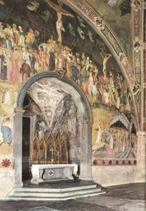 Frescoes on the Central Wall | Da Firenze Andrea | Oil Painting