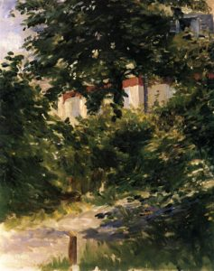 A Path in the Garden at Rueil 1882 | Edouard Manet | Oil Painting