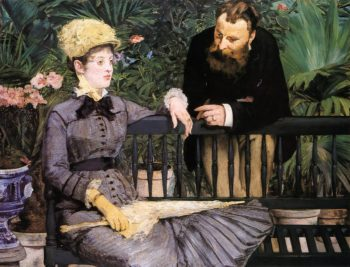 In the Conservatory 1879 | Edouard Manet | Oil Painting