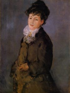 Isabelle Lemonnier with a White Scarf 1879 | Edouard Manet | Oil Painting