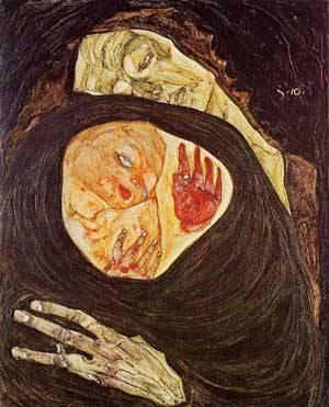 Dead Mother 1910 | Egon Schiele | Oil Painting