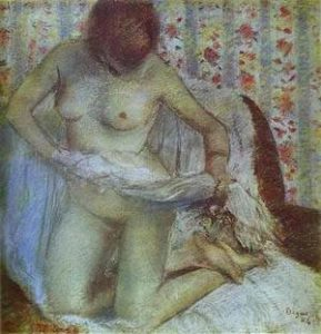 After The Bath | Edgar Degas | Oil Painting