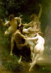 Nymphes Et Satyr | William Bouguereau | Oil Painting