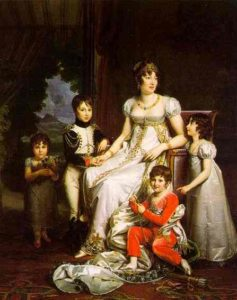 Caroline Murat And Her Children 1808 | Francois Pascal Simon Gerard | Oil Painting