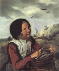 Fisher Girl 1630-32 | Frans Hals | Oil Painting
