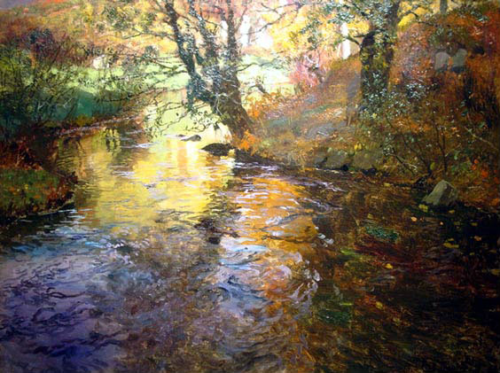 At Quimperle | Frits Thaulow | Oil Painting