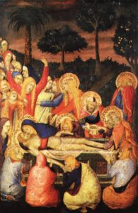 The Entombment of Christ 1340 | Simone Martini | Oil Painting