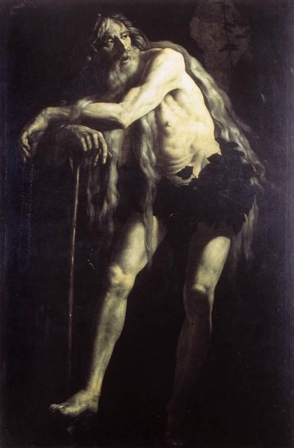 St Onophrius 1625 | Giovanni Battista Caracciolo | Oil Painting