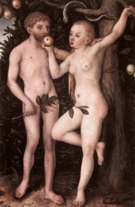 Adam And Eve | Lucas The Elder Cranach | Oil Painting
