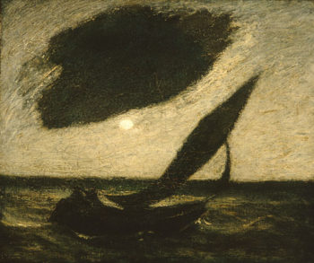 Under a Cloud 1900 | Albert Pinkham Ryder | Oil Painting