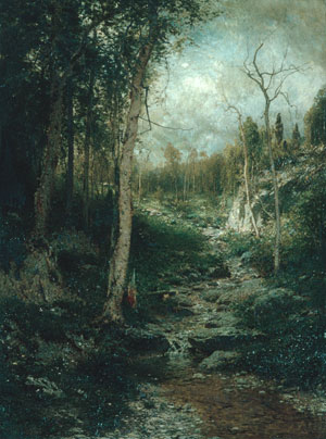 An Old Clearing 1881 | Alexander H Wyant | Oil Painting