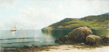 Marine Landscape 1895 | Alfred Thompson Bricher | Oil Painting