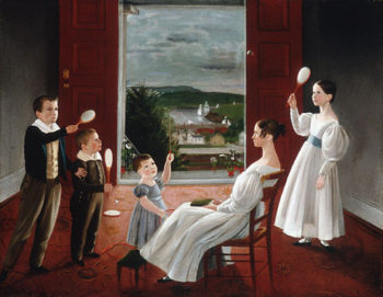 The Children of Nathan Starr 1835 | Ambrose Andrews | Oil Painting