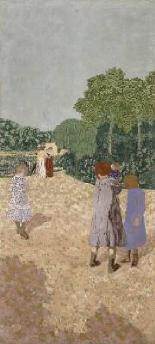 The Promenade 1894 | Edouard Vuillard | Oil Painting