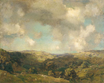 August ca 1908 | Charles H Davis | Oil Painting