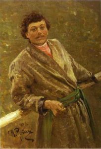 A Belorussian Portrait Of Sidor Shavrov 1892 | Ilya Repin | Oil Painting