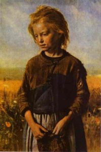 A Fisher Girl 1874 | Ilya Repin | Oil Painting