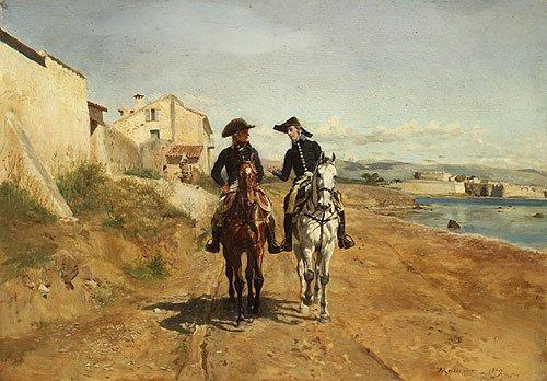 A General and His Aide de camp 1869 | Jean Louis Ernest Meissonier | Oil Painting