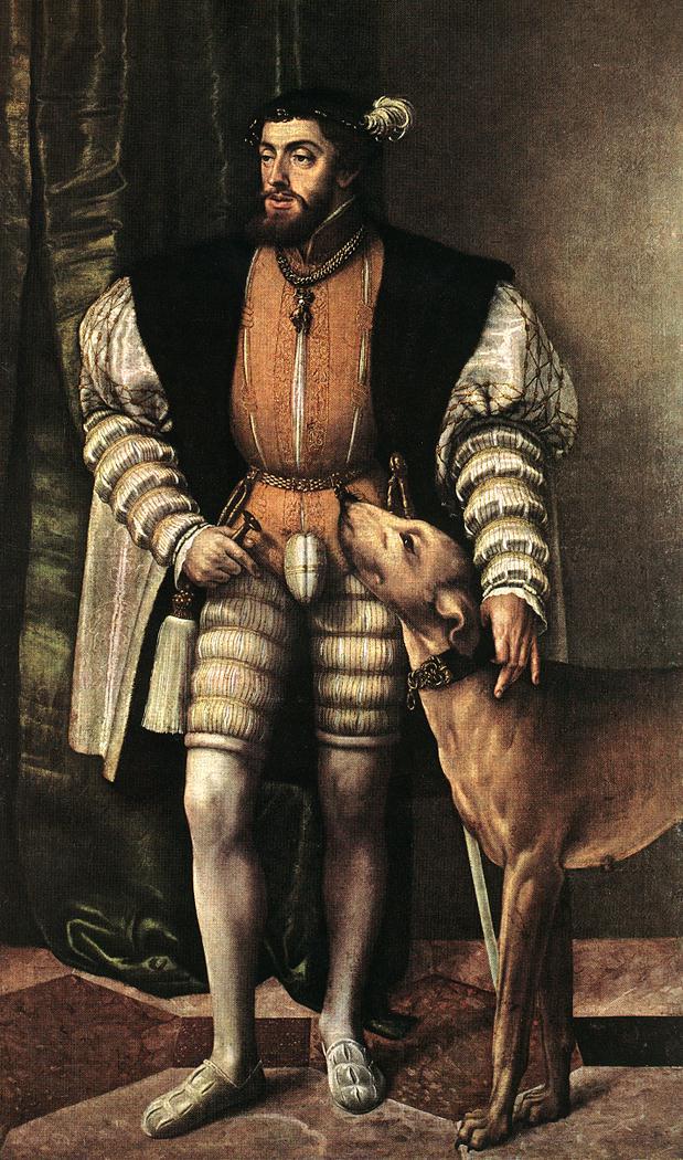 Portrait of Emperor Charles V 1532 | Jacob Seisenegger | Oil Painting