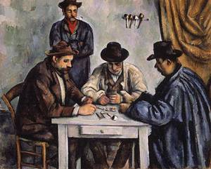 The Card Players | Paul Cezanne | Oil Painting