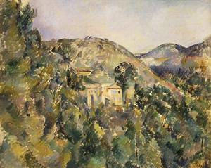 View of the Domaine Saint Joseph late 1880s | Paul Cezanne | Oil Painting