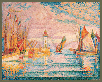 Lighthouse at Groix 1925 | Paul Signac | Oil Painting